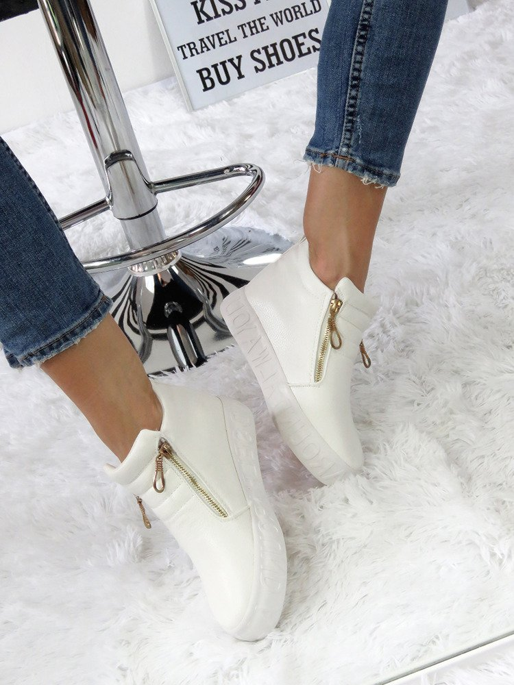 SNEAKERSY TRAINERS WEDGES SLIP ON