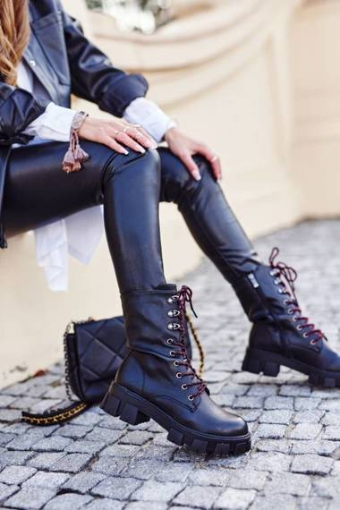 Women's Boots Black Moderniso