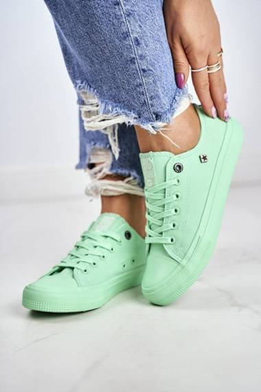 Women's Classic Sneakers BIG STAR AA274030 Green