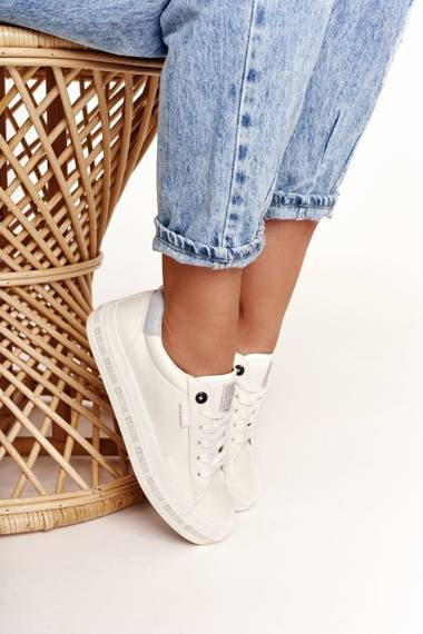 Women's Sneakers Big Star White Snake