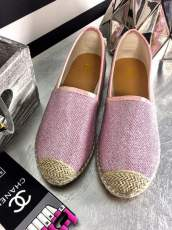 LU BOO PINK ESPADRILLES SLIP ON FLAXY